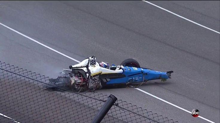 2017 Indy 500 Scott Dixon crash Video: Τρομακτικό ατύχημα στο Indy500