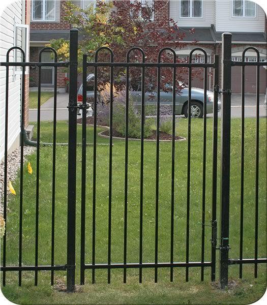 Tiffany Iron Walk Gate  Fence-All