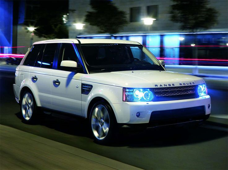 White Range Rover, Tinted Windows!