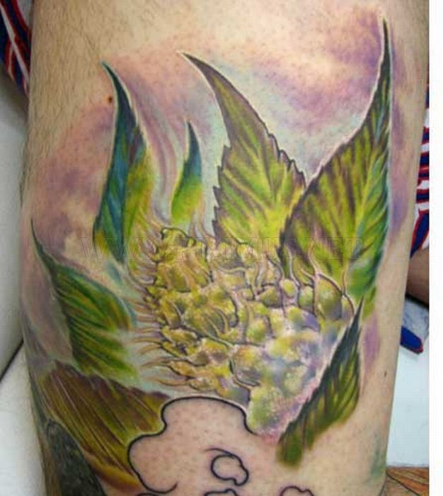 31 best stoner tattoos images on pinterest tattoo ideas for Best weed tattoo designs