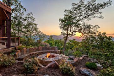 Beautiful Mountain Residence traditional-patio