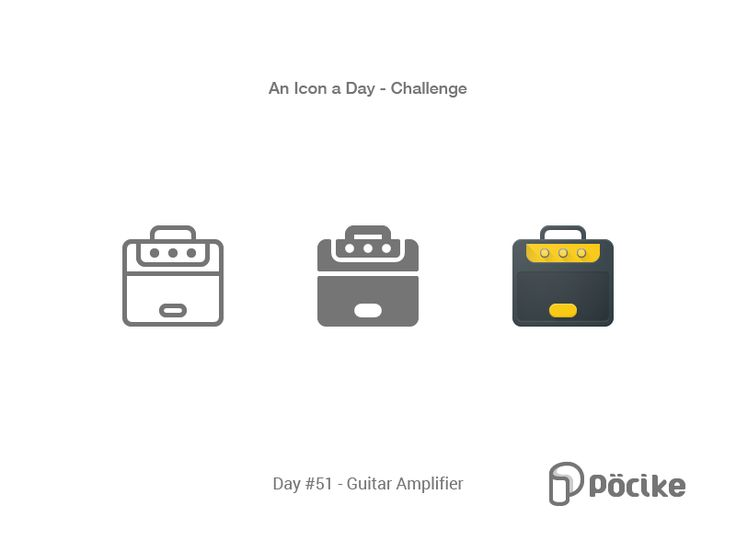 Icon Challenge Day 50 Guitar Amplifier