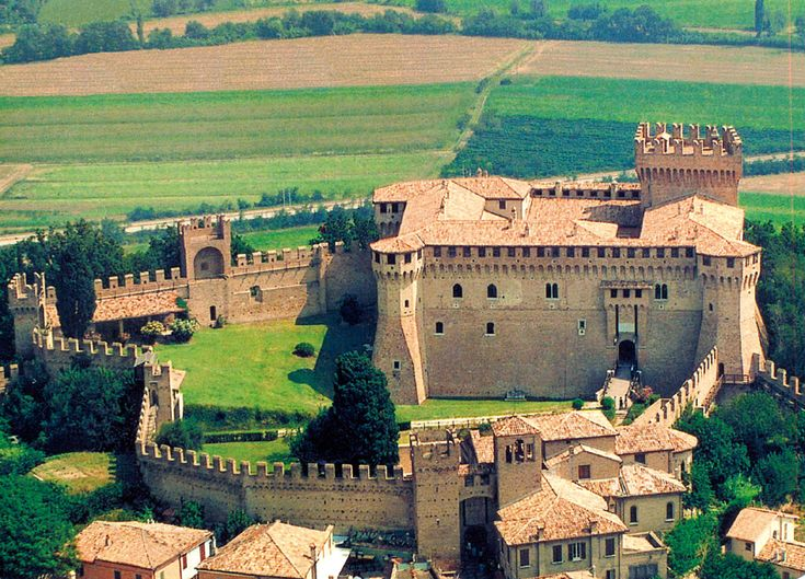 "Near Cattolica: Gradara Castle (Gradara PU Italy) -  In this Castle they say the tragedy of Paolo and Francesca (Dante, ""The Divine Comedy"") took place. Marvellous!!"