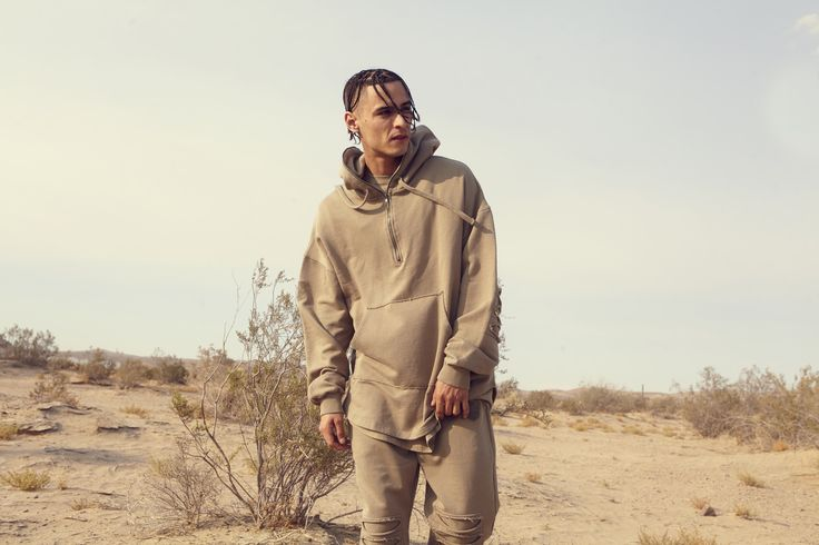 streetwear, mens style, mens fashion, menswear, khaki, tracksuit, distressed, desert, lookbook, look book, yeezy, supreme, trend, autumn, fall, winter