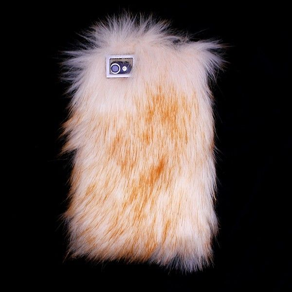 Luxury Fur Style Fluffy Case for iPhone 544S