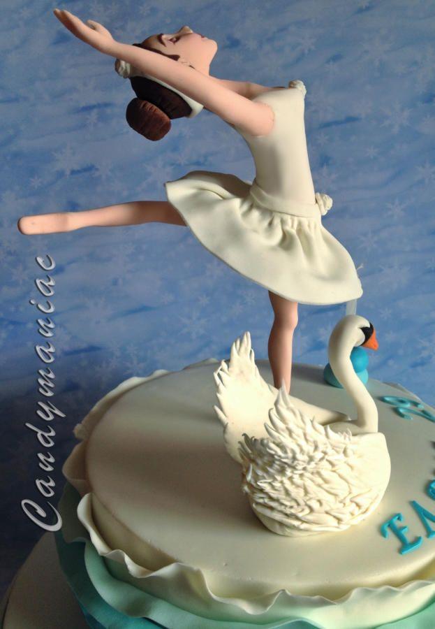 Cake Deco Mania : Swan lake - Cake by Mania M. - CandymaniaC Cakes & Cake ...