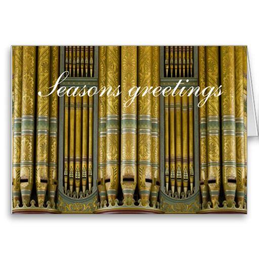 Birmingham Town Hall organ greetings