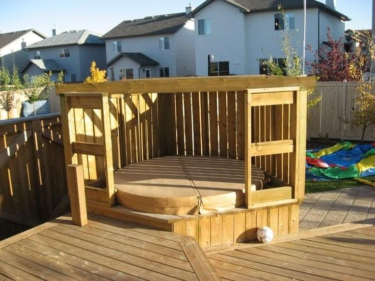 115 best hot tub privacy ideas to work with images on pinterest hot tub privacy backyard ideas and hot tubs - Hot Tub Enclosures