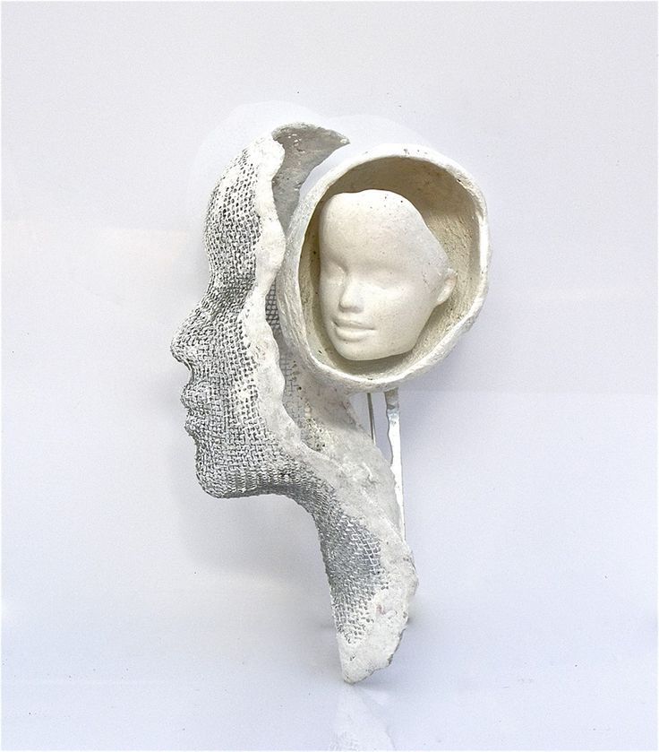 Alina Carp - Forever Child, Brooch, silver, steel, composite
