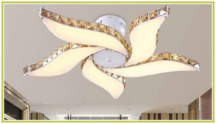 Crystal Chandelier Ceiling Fan Combo Stuff To Buy
