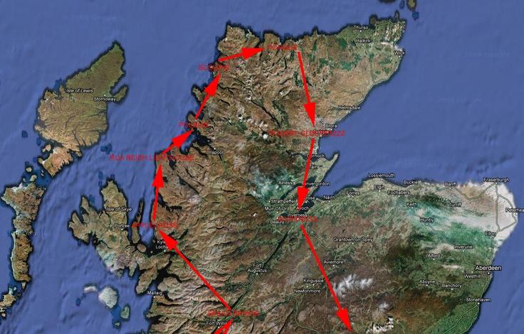 World Tour of Scotland, 2010