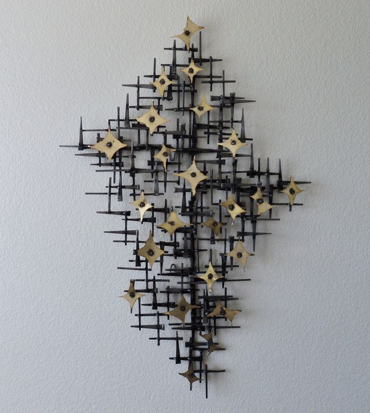 Vintage Midcentury Wall Sculpture Paul Evans Corey Ellis C Jere William Bowie | eBay