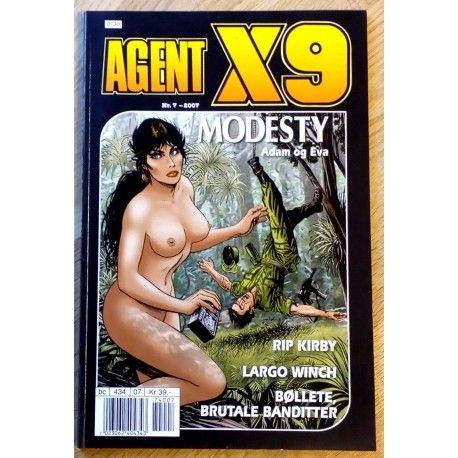 Agent X9: 2007 - Nr. 7 - Adam og Eva