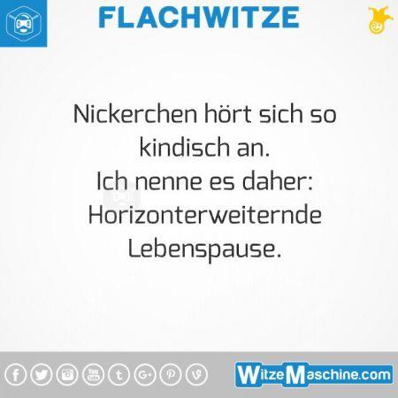 Flachwitze #331 - Nickerchen - Hochdeutsch