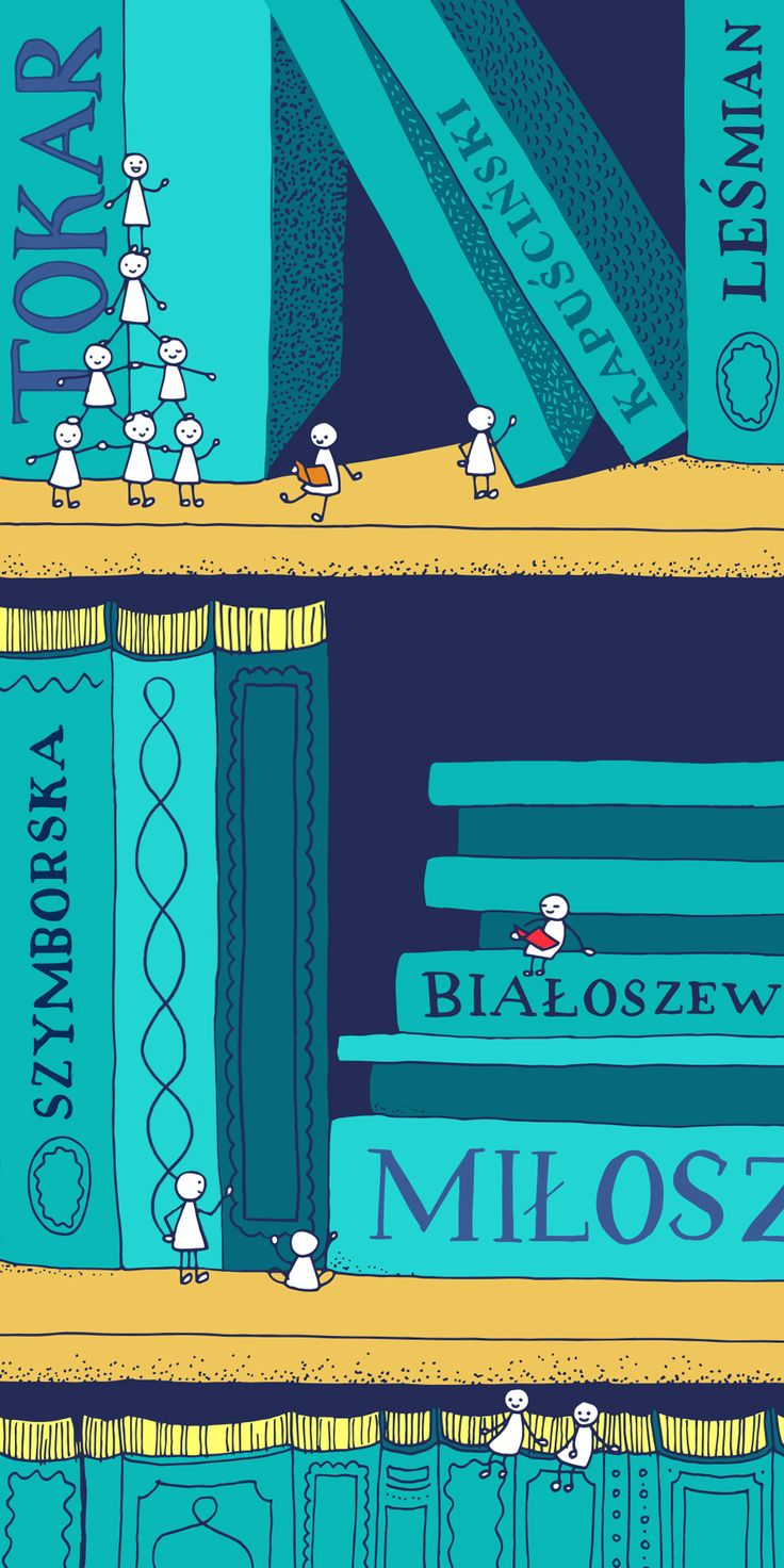 Learning and eventually mastering Polish will give you access to one of the most fascinating libraries worldwide. You will be able to indulge yourself in the words of all those serious Slavic poets you've heard so much about, like Miłosz and Szymborska. Artwork by Katarzyna Piątek / www.katarzynapiatek.pl