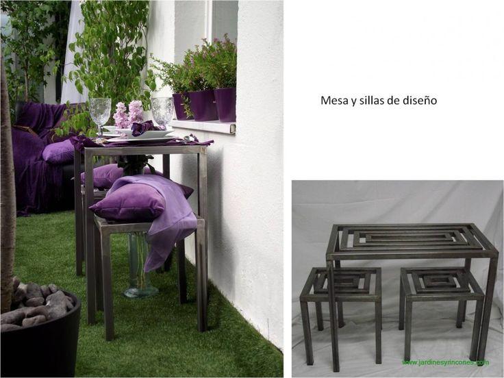 Mueble diseñado y producido por Jardines y Rincones Paisajismo