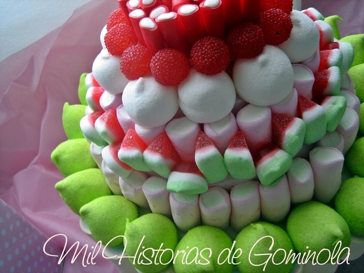 Tarta chuches / gominolas