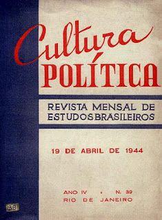 """HISTÓRIA H2 : O envolvimento do Brasil na II Guerra Mundial através das páginas da revista """"Cultura Política"""" http://historia2h.blogspot.com.br/2016/11/dez-razoes-para-nao-ter-saudade-da.html"""