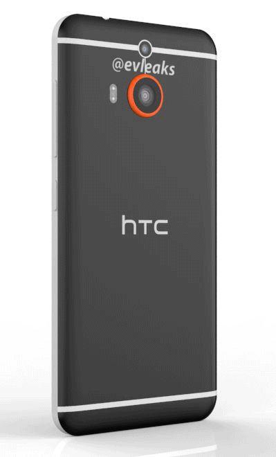 HTC One M8 Prime 終於曝光: 360 度旋轉看機身, 特大鏡頭是秘密武器? [動圖]