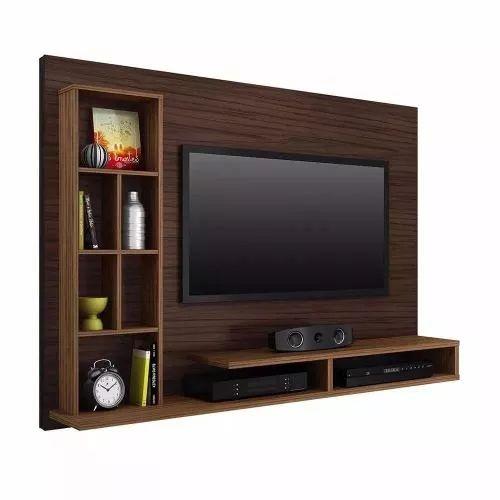 Centro De Entrettenimiento - Panel Tv Con Estanteria - $ 2,990.00