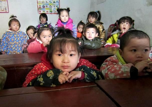 Preschoolers gather together in Anhui Province through LWB's Tuition Assistance program.  This program allows children in LWB Foster Care to attend public schools.