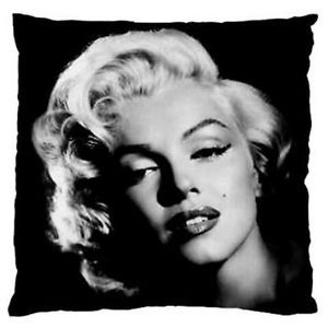 Marilyn-Monroe-Decorative-Throw-Pillow-Cushion-Cover-Reversible-Black-And-White