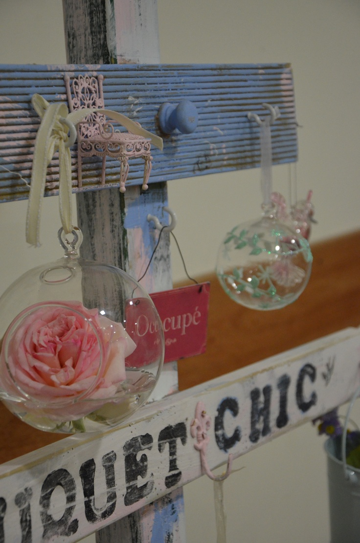 Love these little glass hanging balls