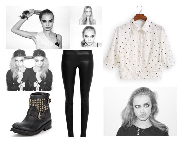 """""""Cara Delevigne."""" by antomills15 on Polyvore"""