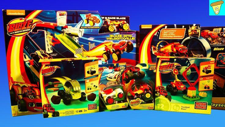 Mega Bloks Tafel : Blaze and the monster machines toys mega bloks blaze zeg monster