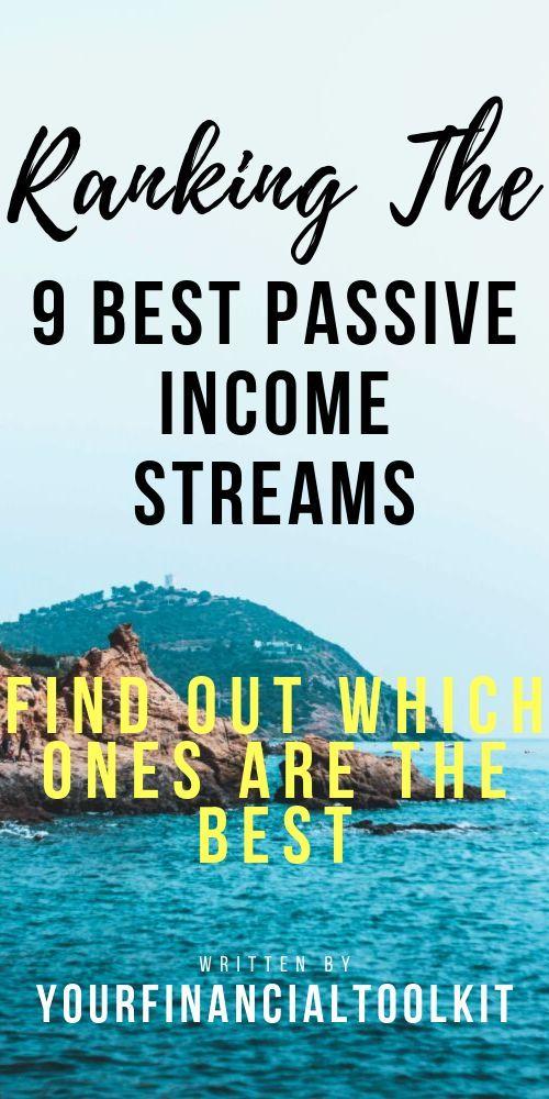 9 Best passive Income Streams