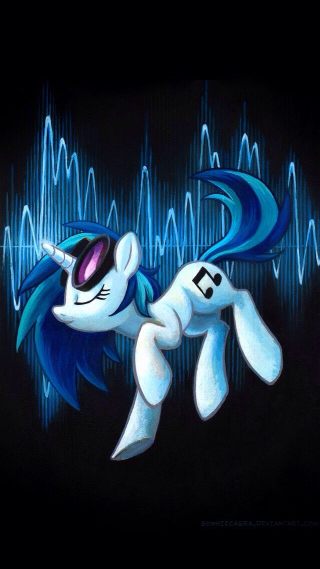 MLP Vinyl Scratch and octavia