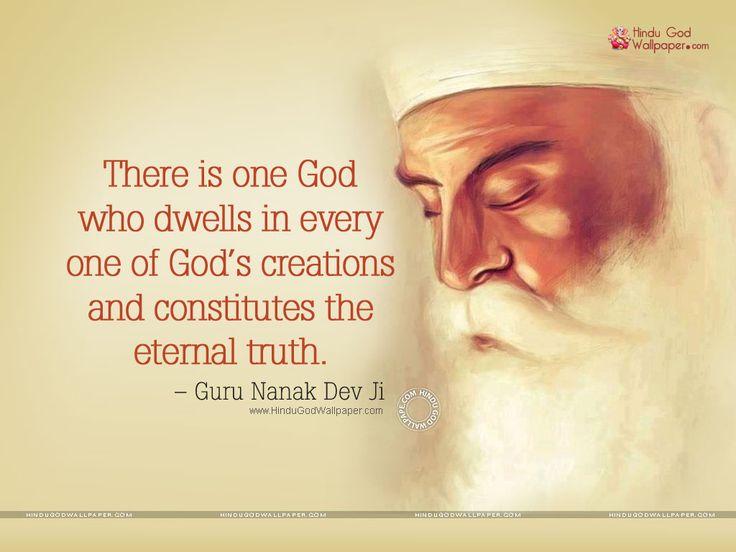 guru nanak dev ji wallpapers with quotes | Inspiring Ideas ...