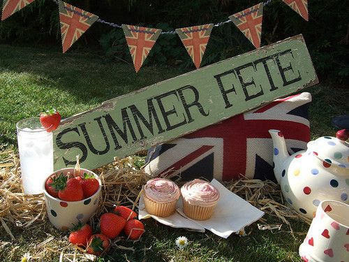 English Summer, the most beautiful words in the English language!