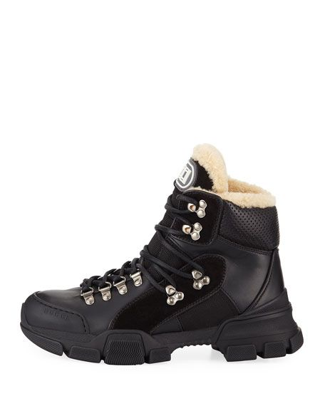 34d1835a22e Flashtrek Shearling-Lined Hiker Boots