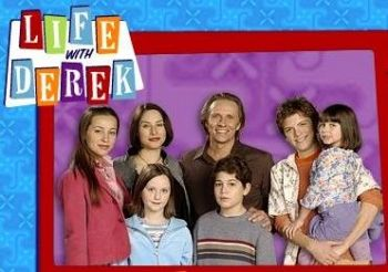 Life with Derek. @anniesears you got me hooked. :)