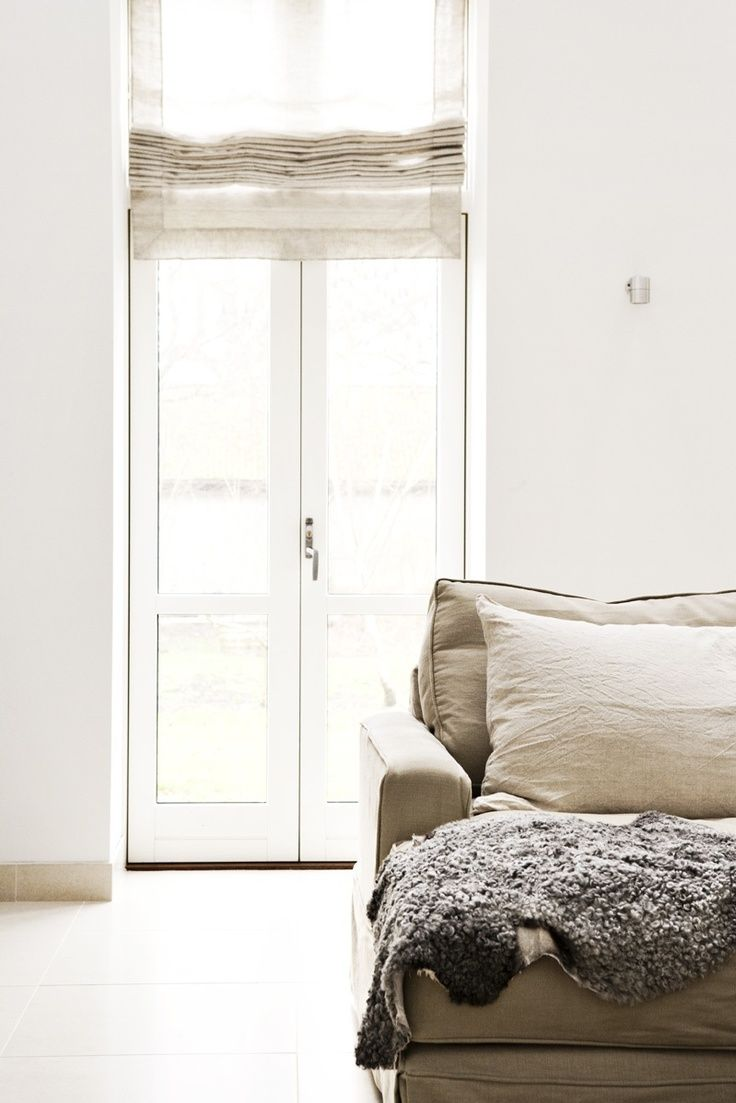 roman shades on loft windows - Google Search