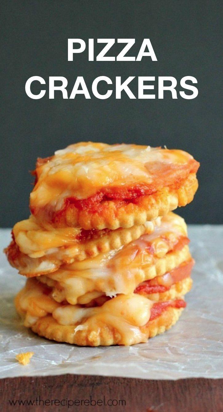 8 verrückte, coole Leckereien mit Ritz-Crackern (schnelle und einfache Snacks!)