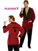 Playboy Hugh Hefner Costume   Celebrity Costumes   HalloweenMart