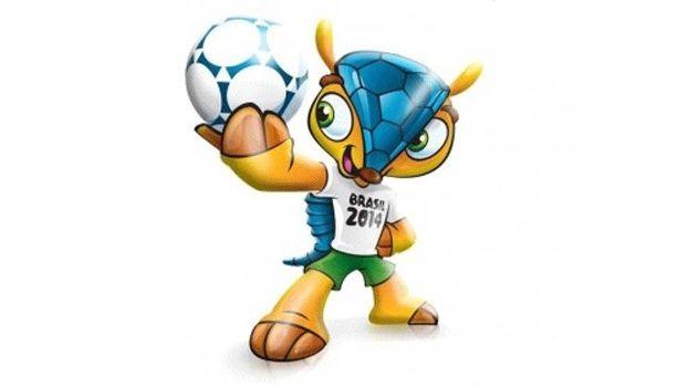 Tatu-bola poderá ser o mascote da Copa do Mundo de Futebol no Brasil em 2014.
