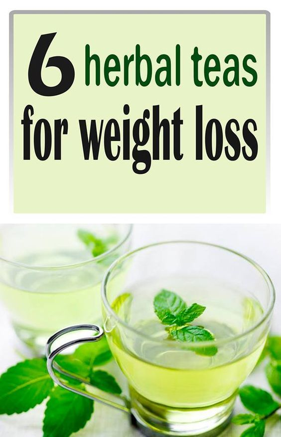 herbs for weight loss teas