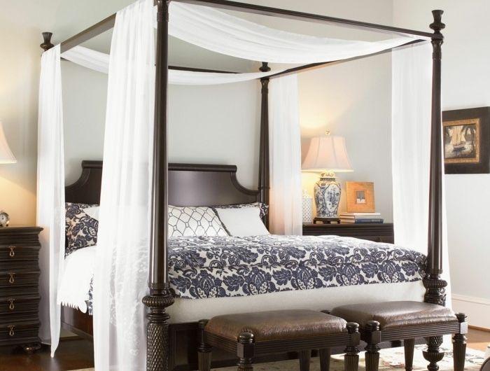 Die besten 25+ Himmelbett selber machen Ideen auf Pinterest - schlafzimmer himmelbett