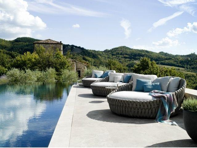 Mobilier extérieur design: 60 chaises-longues et lits de ...