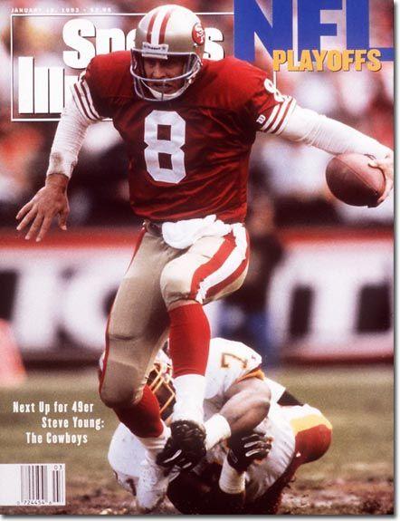 Steve Young, Football, San Francisco 49ers