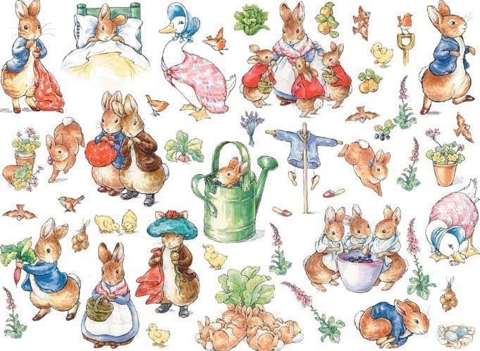 Pictures by Beatrix Potter | Vale a pena...pena que não esta traduzido...