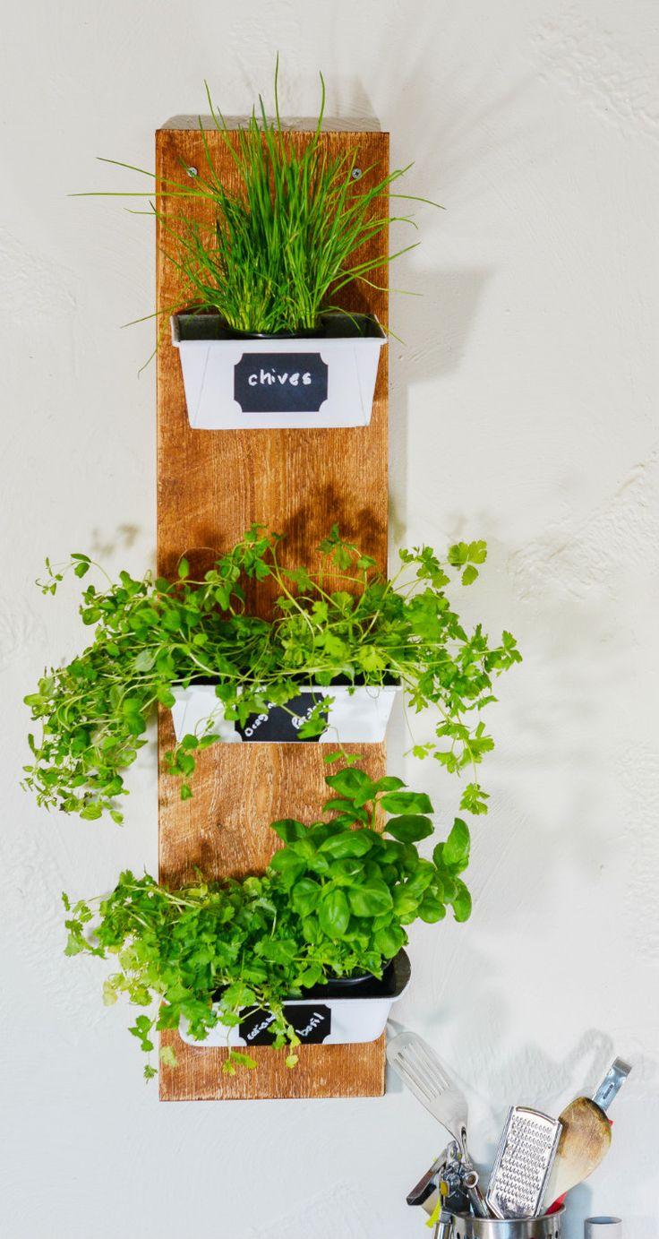 DIY recycled planter - don't throw rusty loaf tins away! DIY tutorial