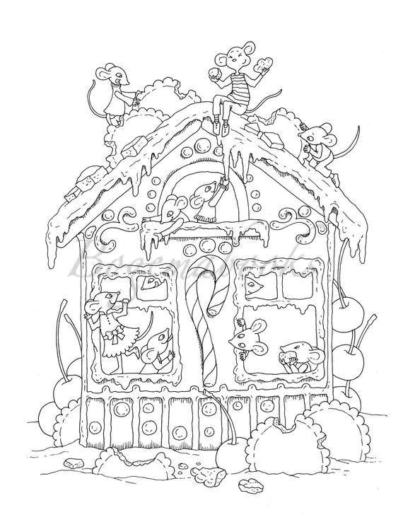 small coloring pages for adults - photo#34