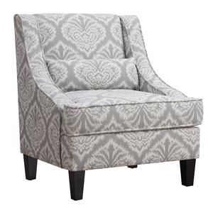 Accent+Seating+Jacquard+Patterned+Accent+Chair