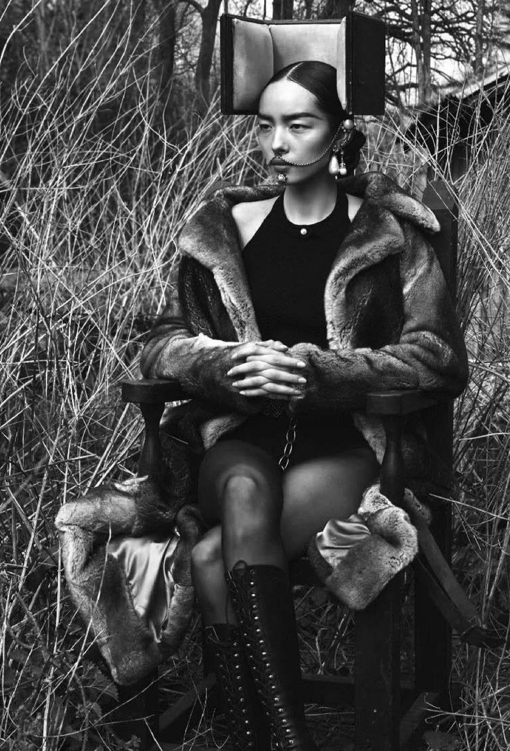 #FeiFeiSun #fashion #editorial by Mert&Marcus for #Vogue Italia 2015. Styled by … – Parchen Fotos