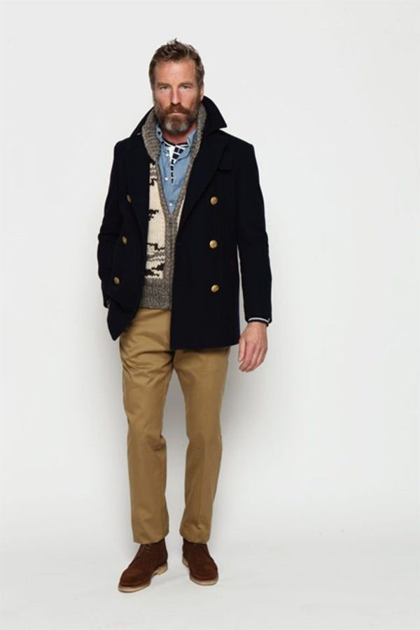 Pea coats for men are an integral part of a man's closet for winter as they can be used as a substitute for jackets and hoodies but still make the man look good. These can also be used as a work attire and it will be fine.