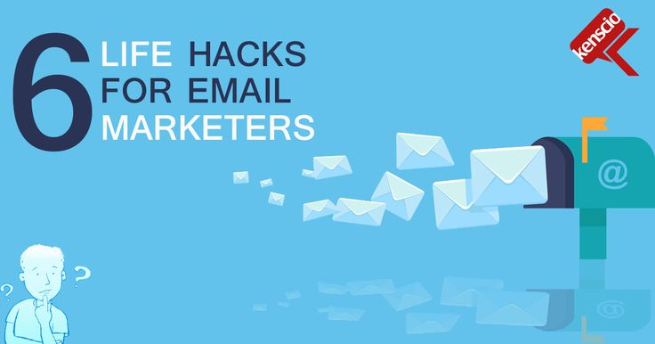#WednesdayWisdom: 6 Powerful #EmailMarketing #Hacks you need to try today! http://www.cio.com/article/3152455/marketing/6-life-hacks-for-email-marketers.html